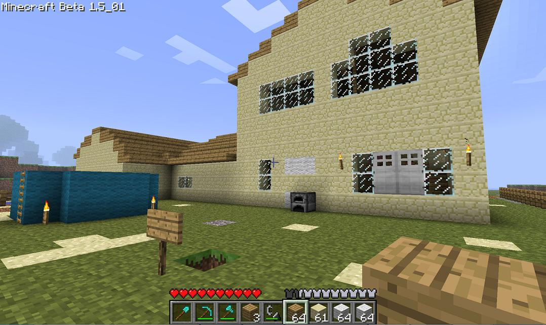 How I Built A Huge Minecraft House Doing It All Diy 56k No
